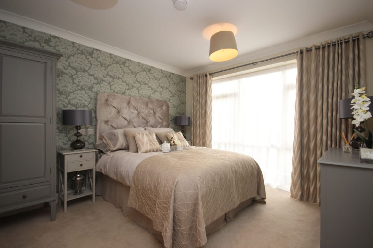 Olive Tree Court Bedroom