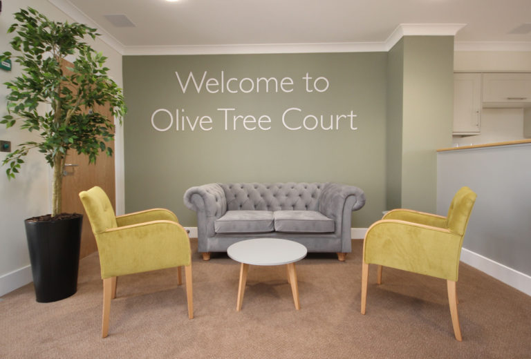 Olive Tree Court Lounge Communal Area